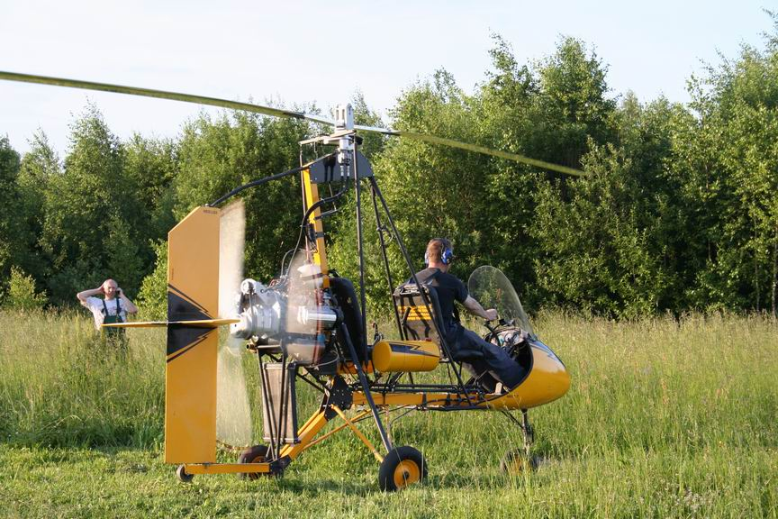 Autogyros in Russia