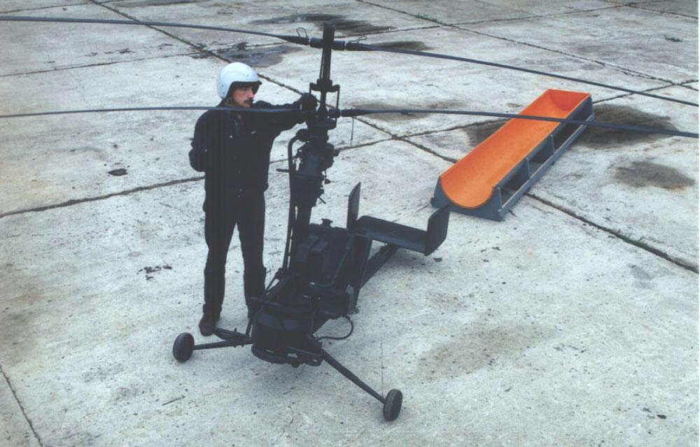 Одноместный сверхлёгкий вертолёт КА-56 :: Paraplan.Ru